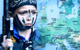 Trener barn i Europa til å bli terrorister