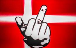 Kriminelle viser fingeren til Danmark