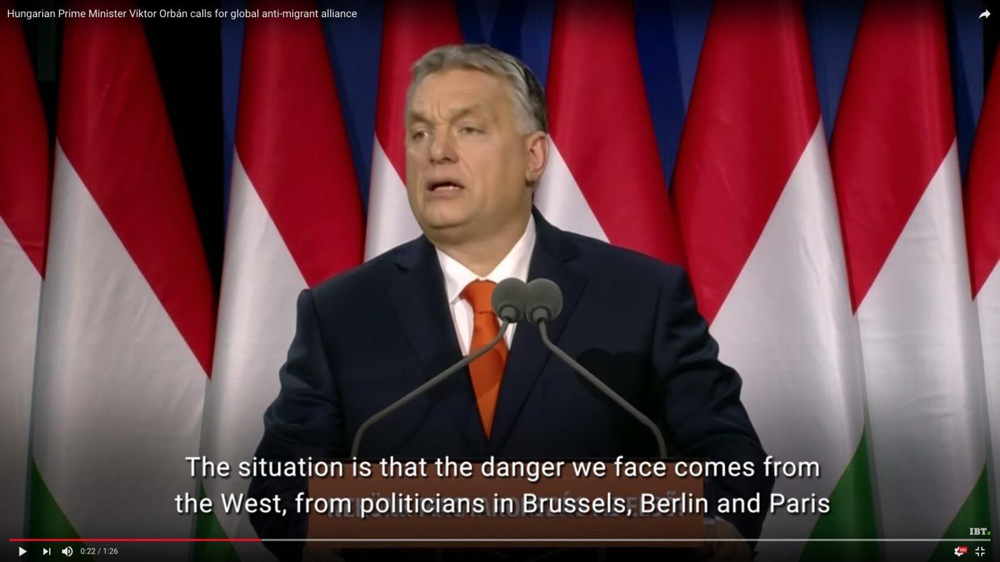 Ungarn skattelegger dem som taler for innvandring