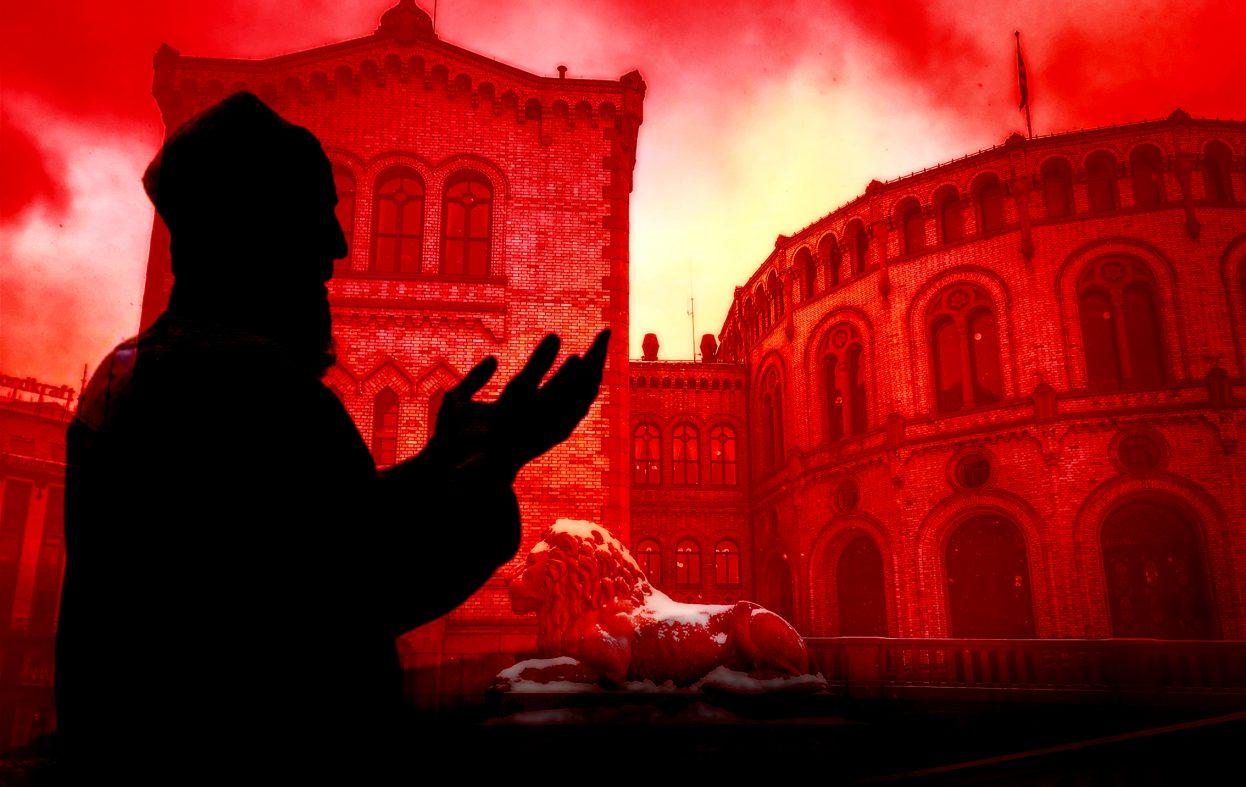 Imam i Drammen tiltalt for vold mot kone og barn. Men hvem er han?
