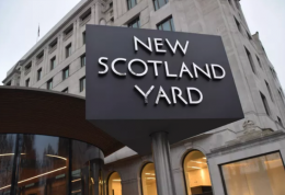 Mulig terror ved det britiske parlamentet