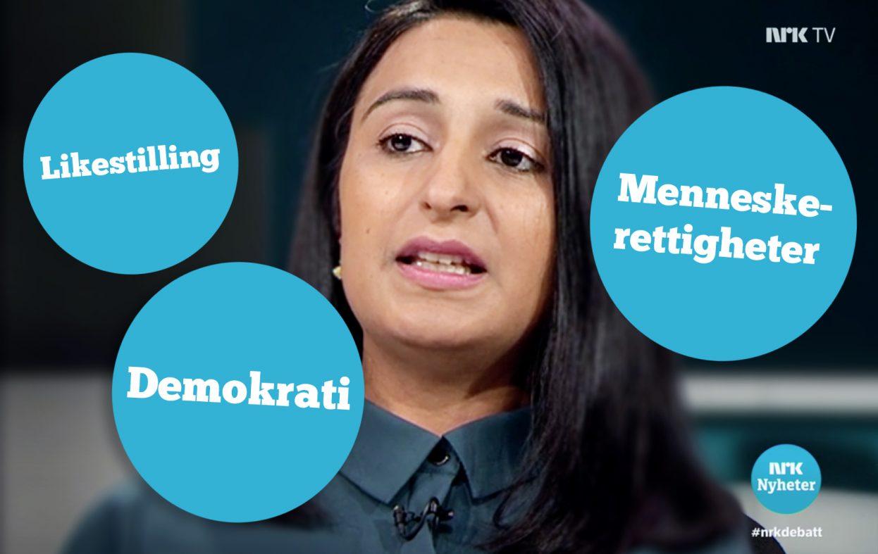 Islam-kanalen NRK fortsetter med idioti og manipulasjoner