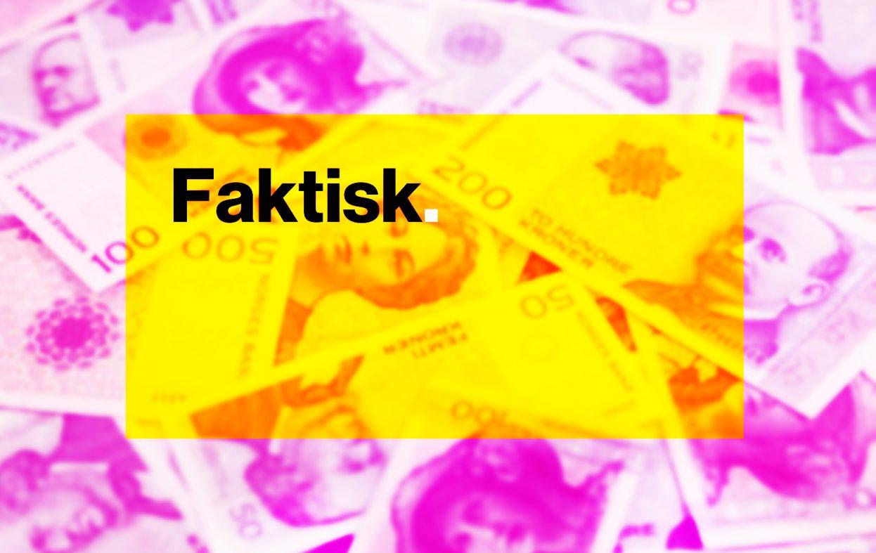 Pengeskandalen: Tilsløring av fakta fra Faktisk.no