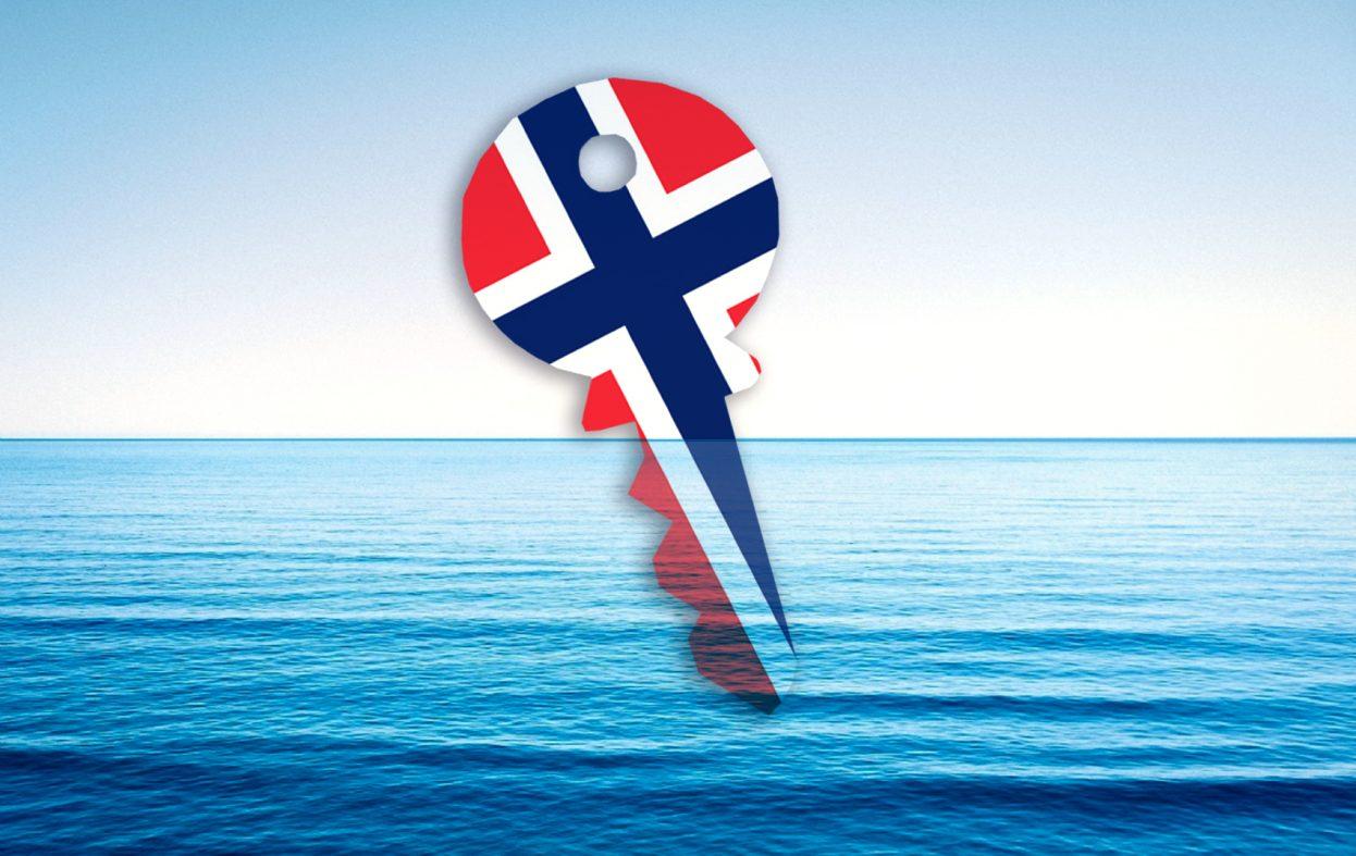Steng døra til Norge, sleng nøkkelen i sjøen