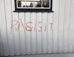 Justisministerens hjem vandalisert og bilen forsøkt påtent