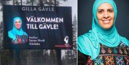 Islamist ønsker velkommen til byen. – Det er reklame for mangfoldet, svarer kommunen