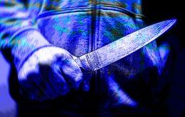 Mann berserk med slakterkniv i Sydney