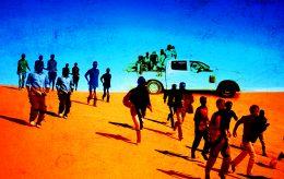 Nye migrasjonsruter – og villig til å la seg utnytte av jihadister?