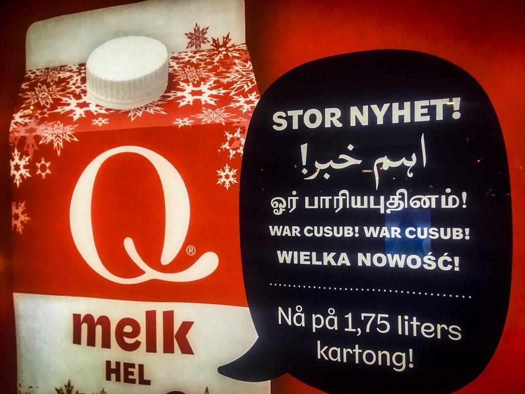 Alle skal med! Reklame i Oslo på arabisk og somalisk