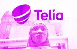 Telia drapstrues etter reklame med hijab. Politiet på saken