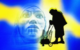 Velstanden går ned i Sverige