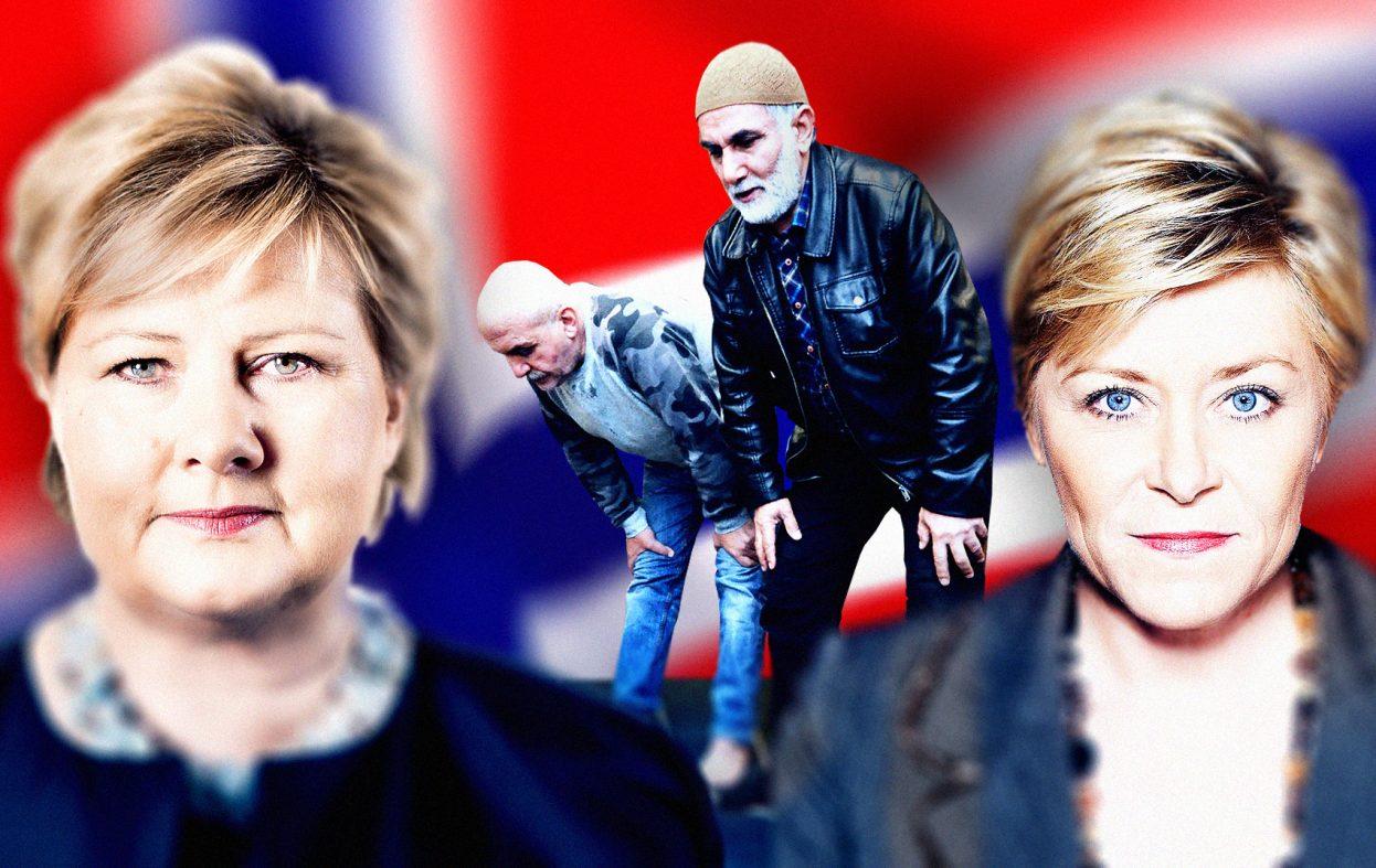 Siv og Erna stopper ikke Saudi-Arabia fra å sponse moskeer og islamisere Norge