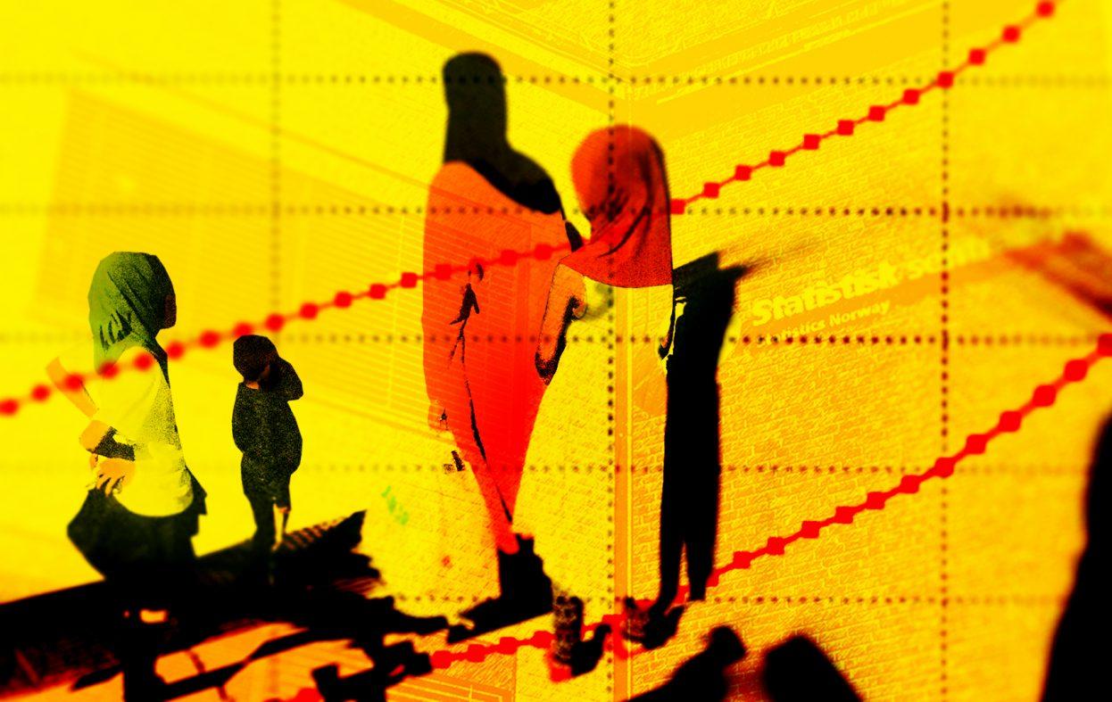 Få i arbeid – og etterkommerne av ikke-vestlige kvinner faller fra i ung alder