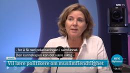 Hun klarer ikke si ett positivt ord om islam