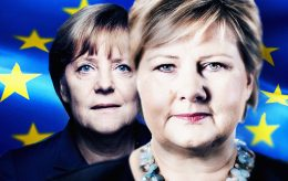 Ernas forbilde Angela Merkel har skapt en massiv trussel mot hele EU, sier ekspert