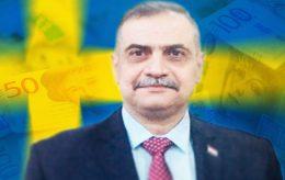 Iraks forsvarsminister snylter på svenske skattebetalere