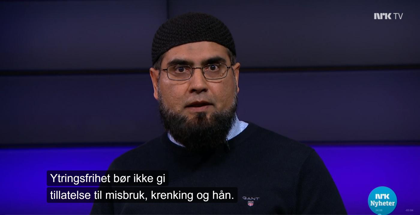 Ekstremister anmelder det de mener er hat