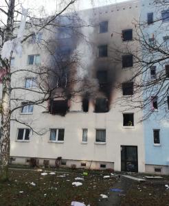 Eksplosjon i boligblokk i Tyskland, minst én drept