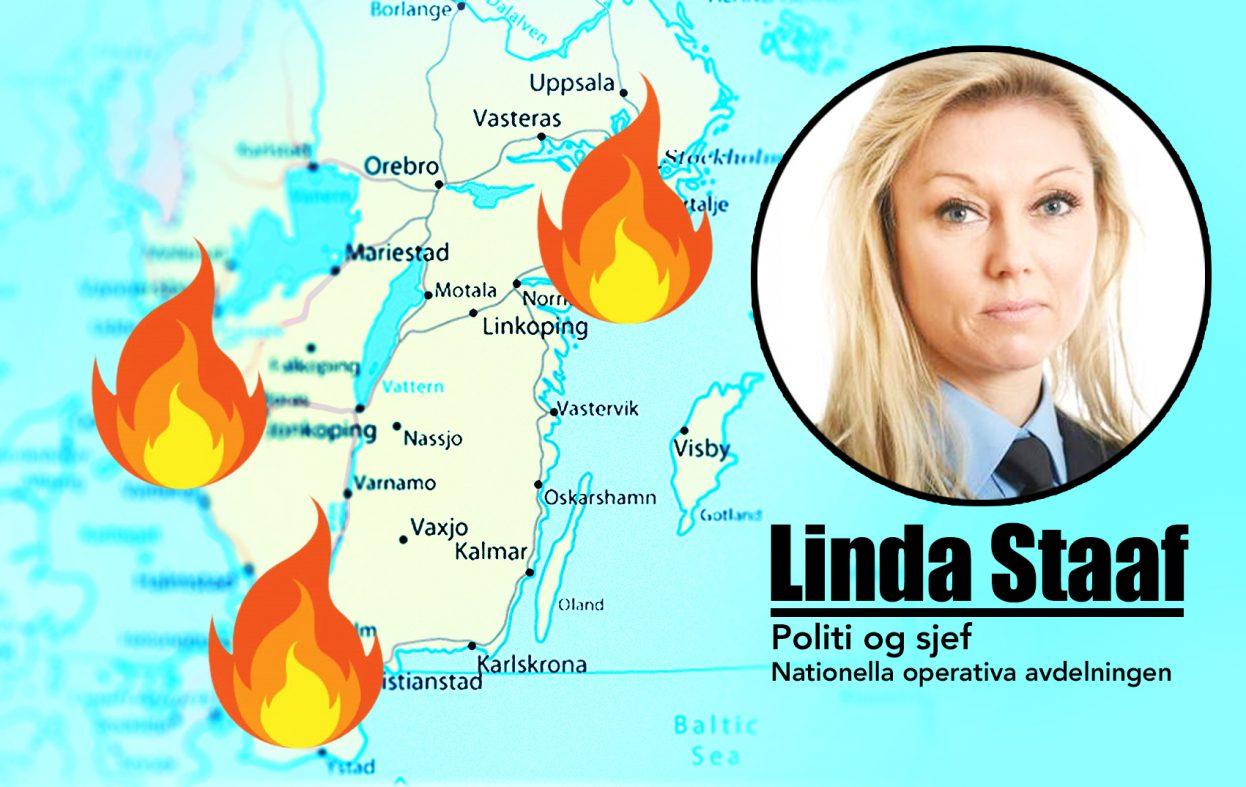 Sjef i etteretningen snakker om krigstilstander i Sverige. Da er det virkelig krise