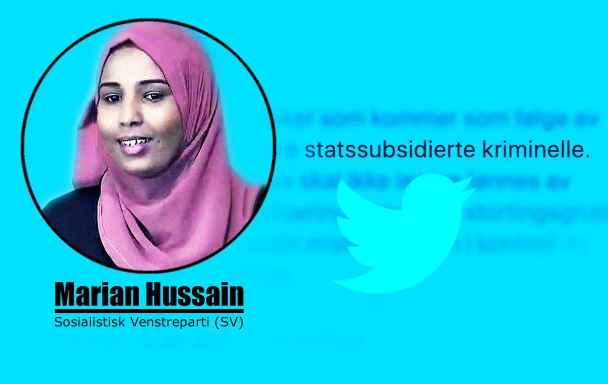 Marian Hussein (SV) har glemt at egen partileder måtte gå av som statsråd
