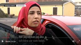 Gratis opptrening til førerkort for damer i hijab