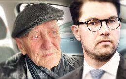 Åkessons SD har tatt Rolf (88) inn på hotell
