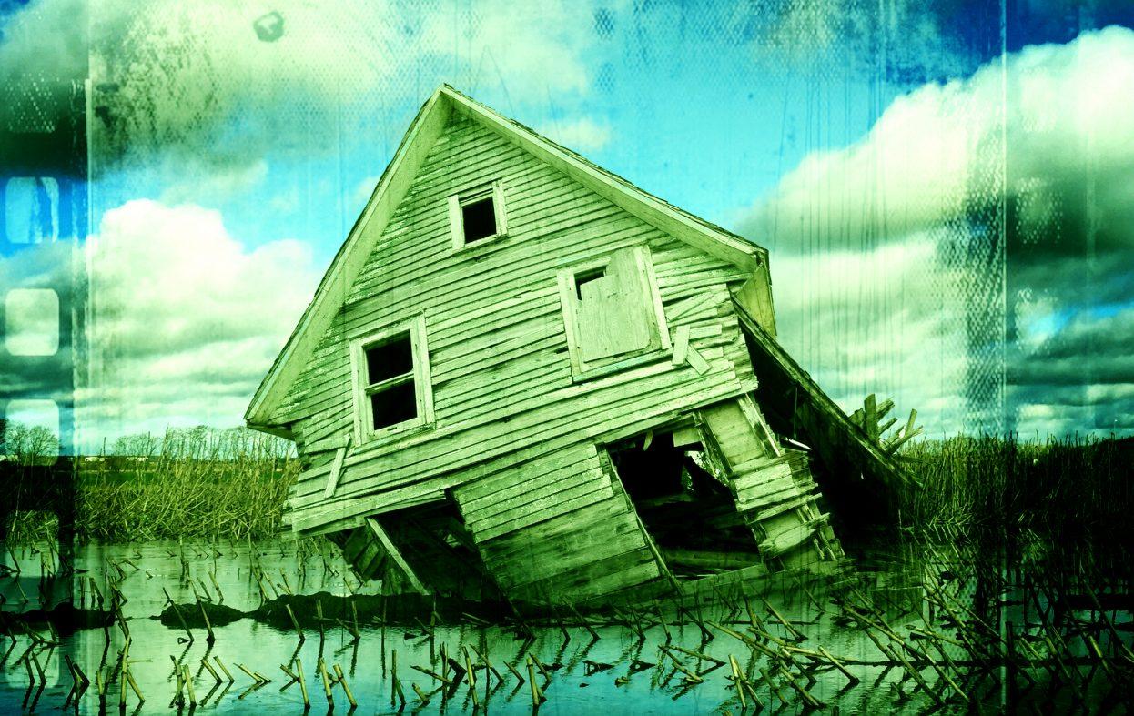 Det norske hus kan blåse over ende