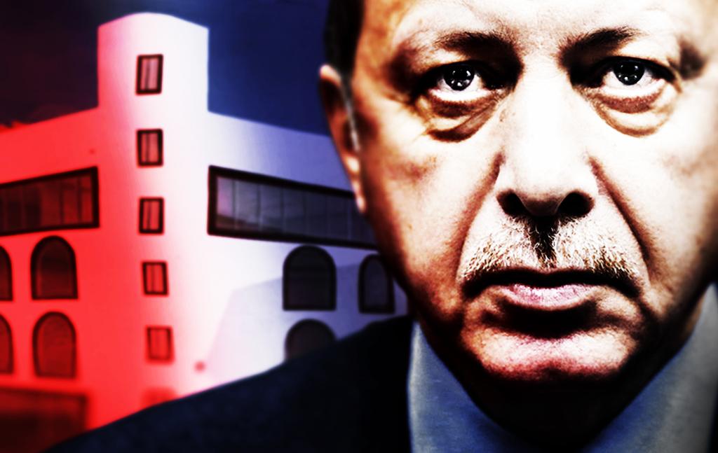 Despoten Erdogan samler inn penger til moské i Stavanger