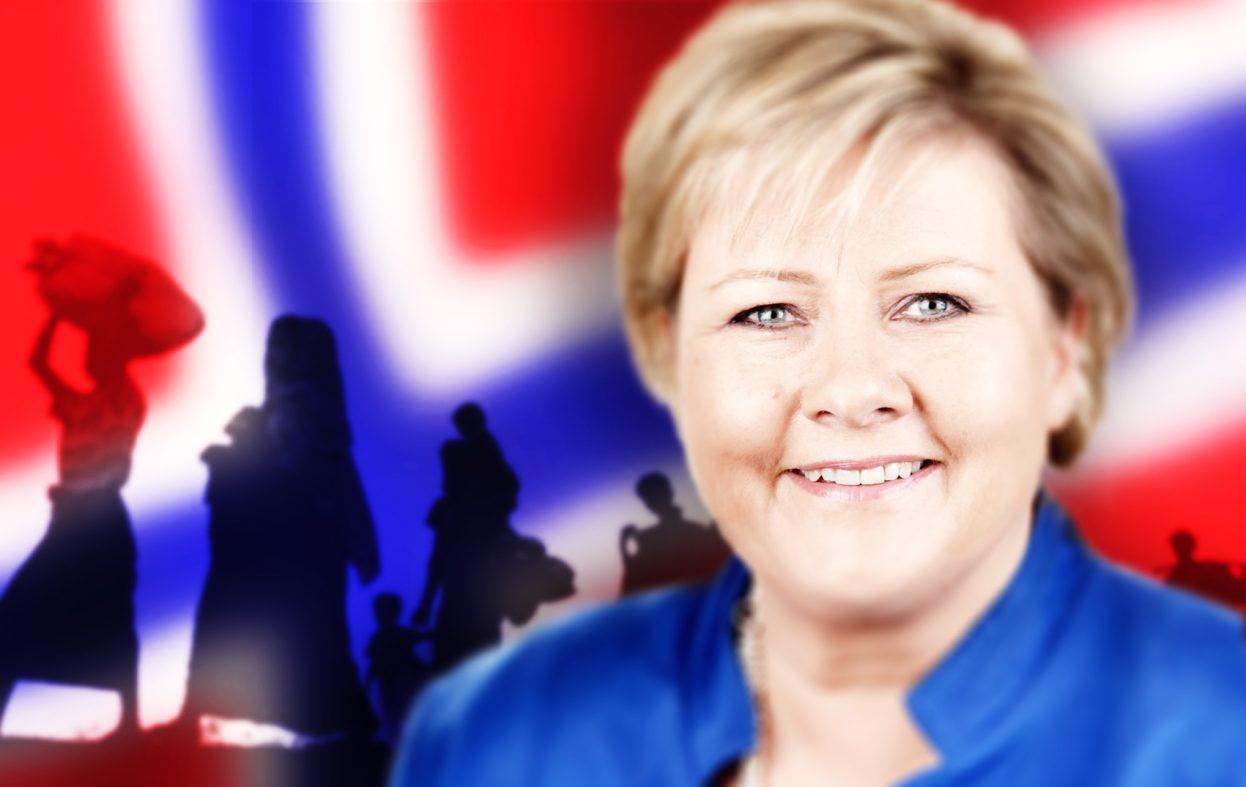 Høyre vil fortsette asylinnvandringen til Norge