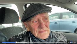 Nesten 90 år gammel mann må bo i bilen. Hvor er sympatien for de gamle?