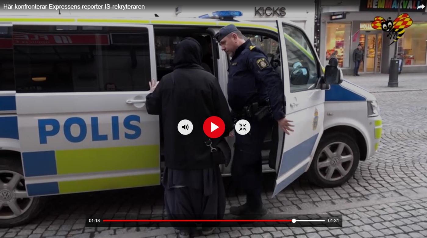 Ikke til å tro: IS-kvinne reddet av politiet