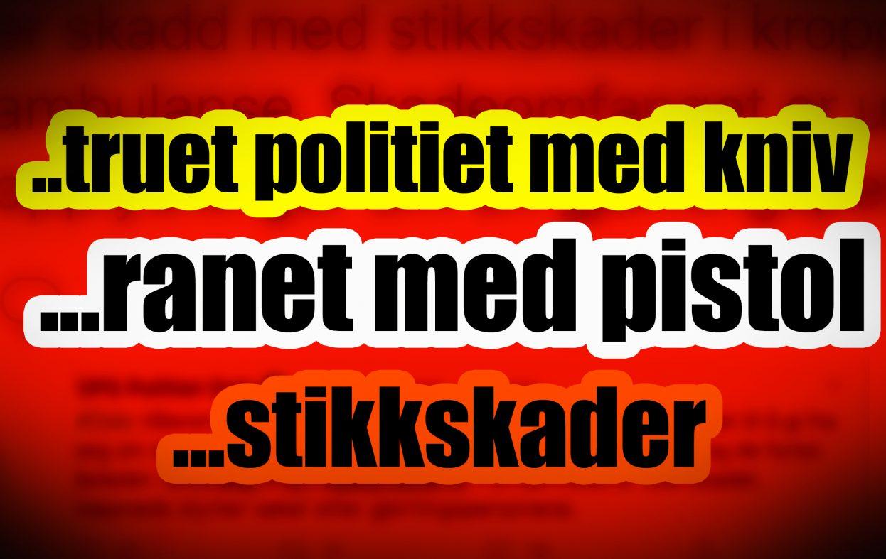 Politilogg avslører høy voldskriminalitet i Oslo