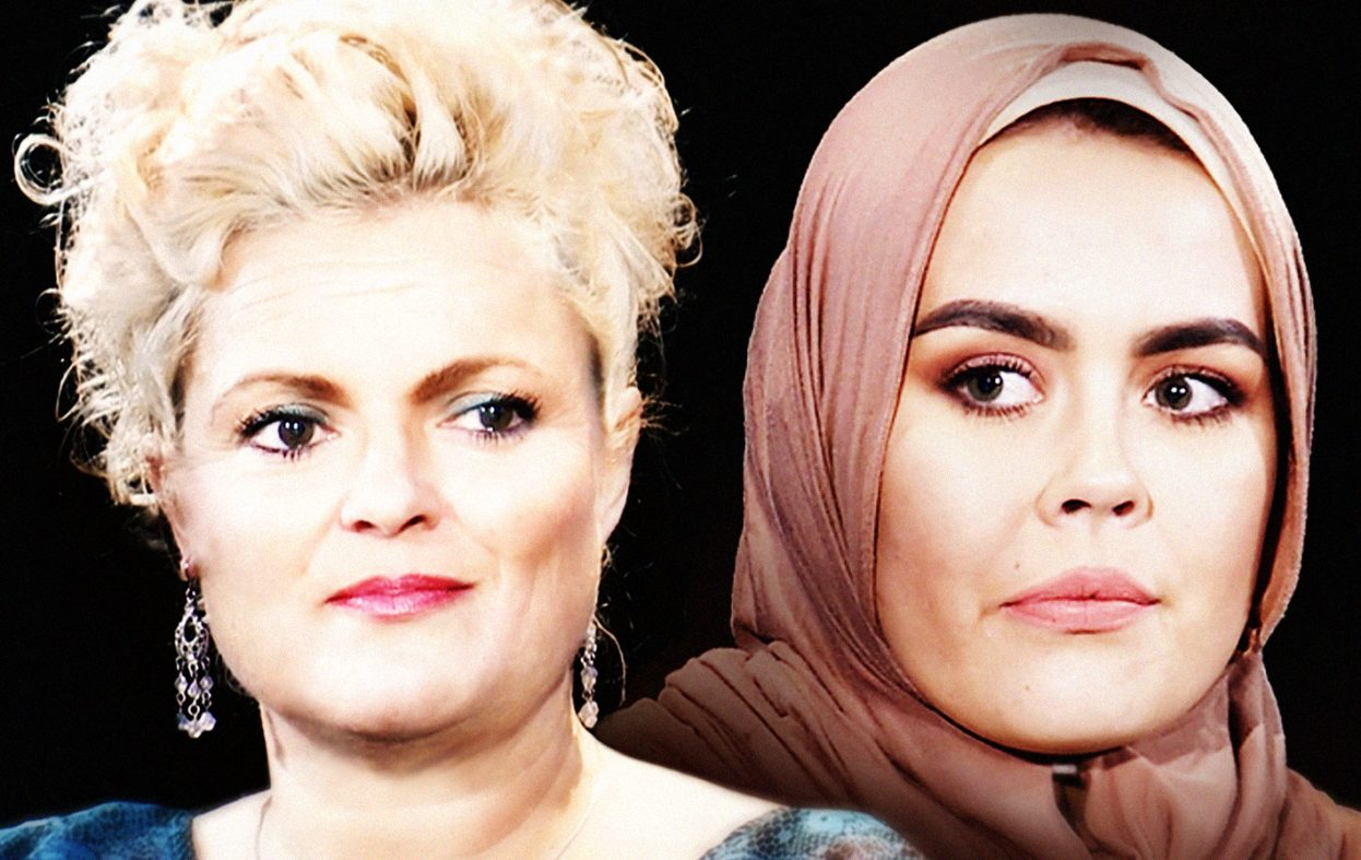 Konvertitten som aksjonerte mot frisør Hodne var tvunget til å bruke hijab