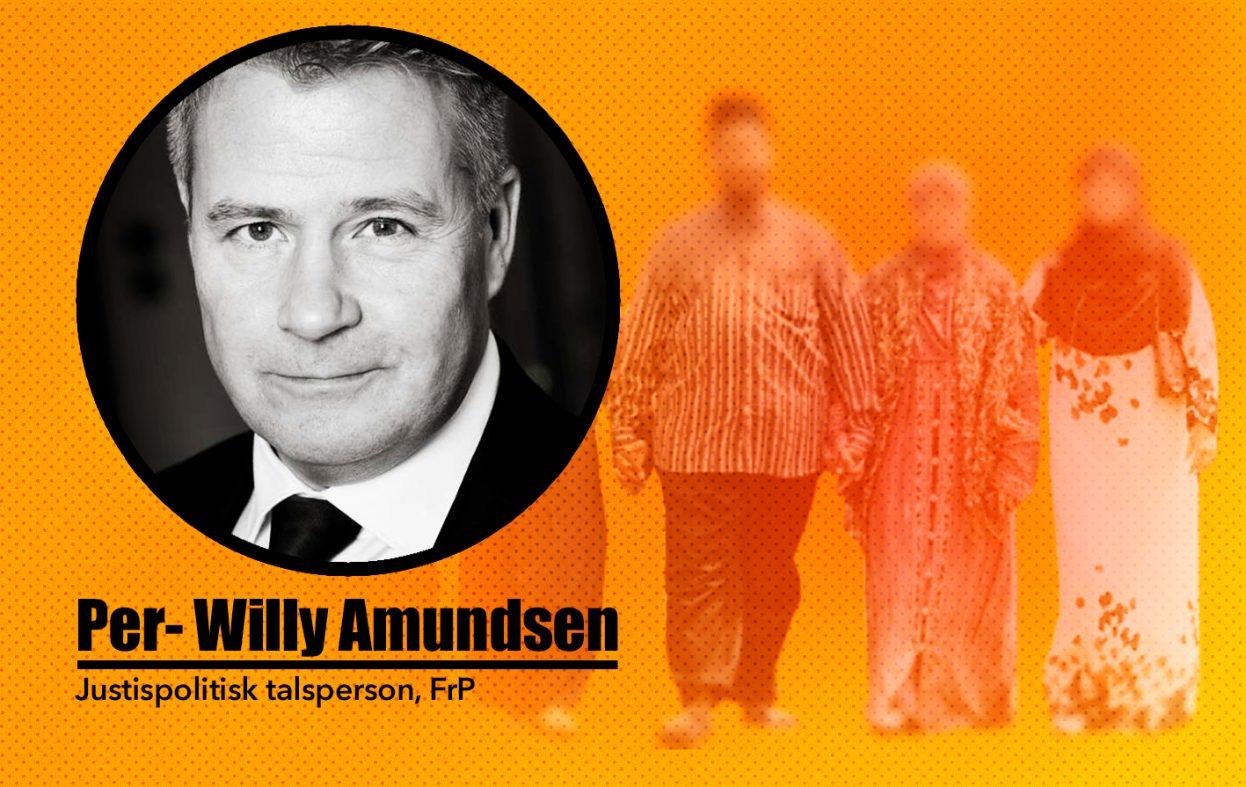 Flerkoneri: – Statsråden gir en håndsrekning til sharia, raser Amundsen