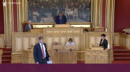 Tybring-Gjedde gikk i raseri midt under debatt med utenriksministeren