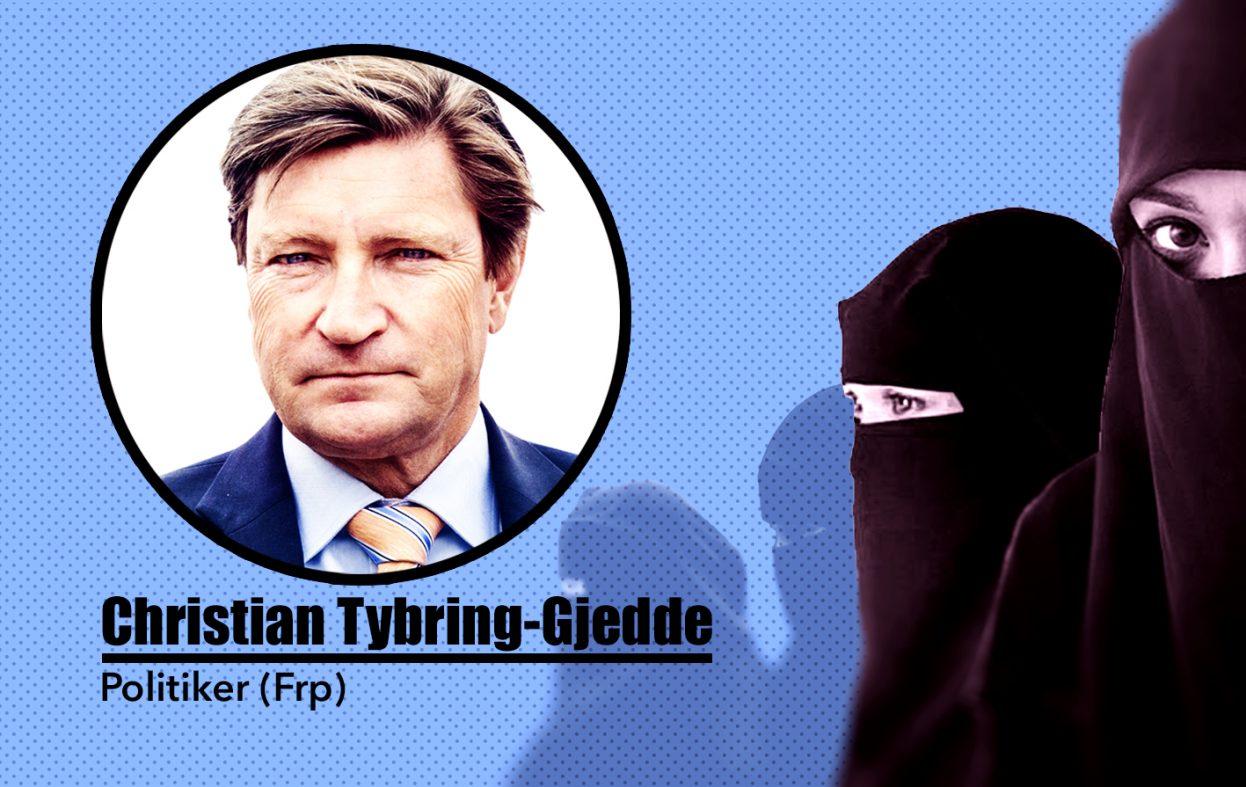 Tybring-Gjedde: – Islam fremmer rasisme, hat og vold, ikke nordmenn flest