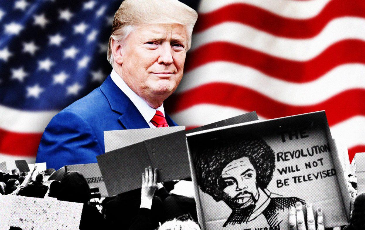 Trump kan tjene på det pågående opprøret