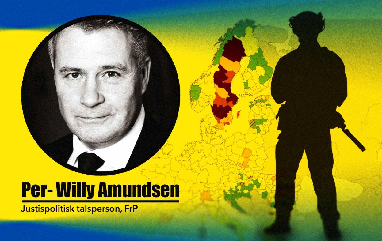 Vil stenge svenskegrensen ved bruk av hæren