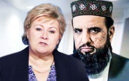 Erna i minnestund sammen med imam som støtter drap av blasfemikere