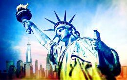 Tusenvis flykter fra New York City