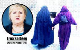 Hater virkelig nordmenn muslimer, statsminister Solberg?