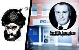 Muhammed-karikaturer: Regjeringen må svare på politiets maktmisbruk i Kongsberg