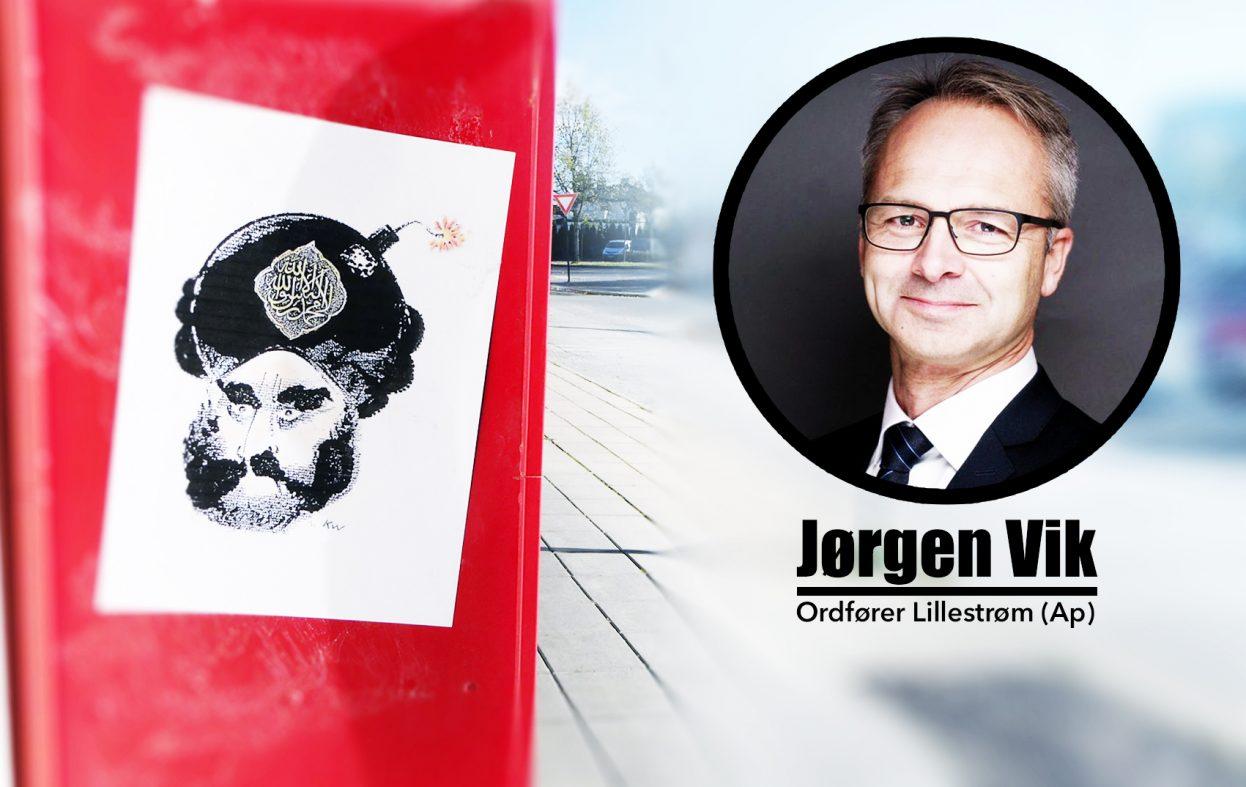 Muhammed-tegninger i Lillestrøm: Ordføreren vil ikke ha «støy»
