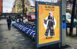 Reklame i Oslo som bekrefter islams økende makt