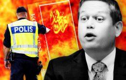 Vil brenne koraner i alle Sveriges getto-områder