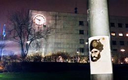 NRK-området pepret med Muhammed-karikaturer