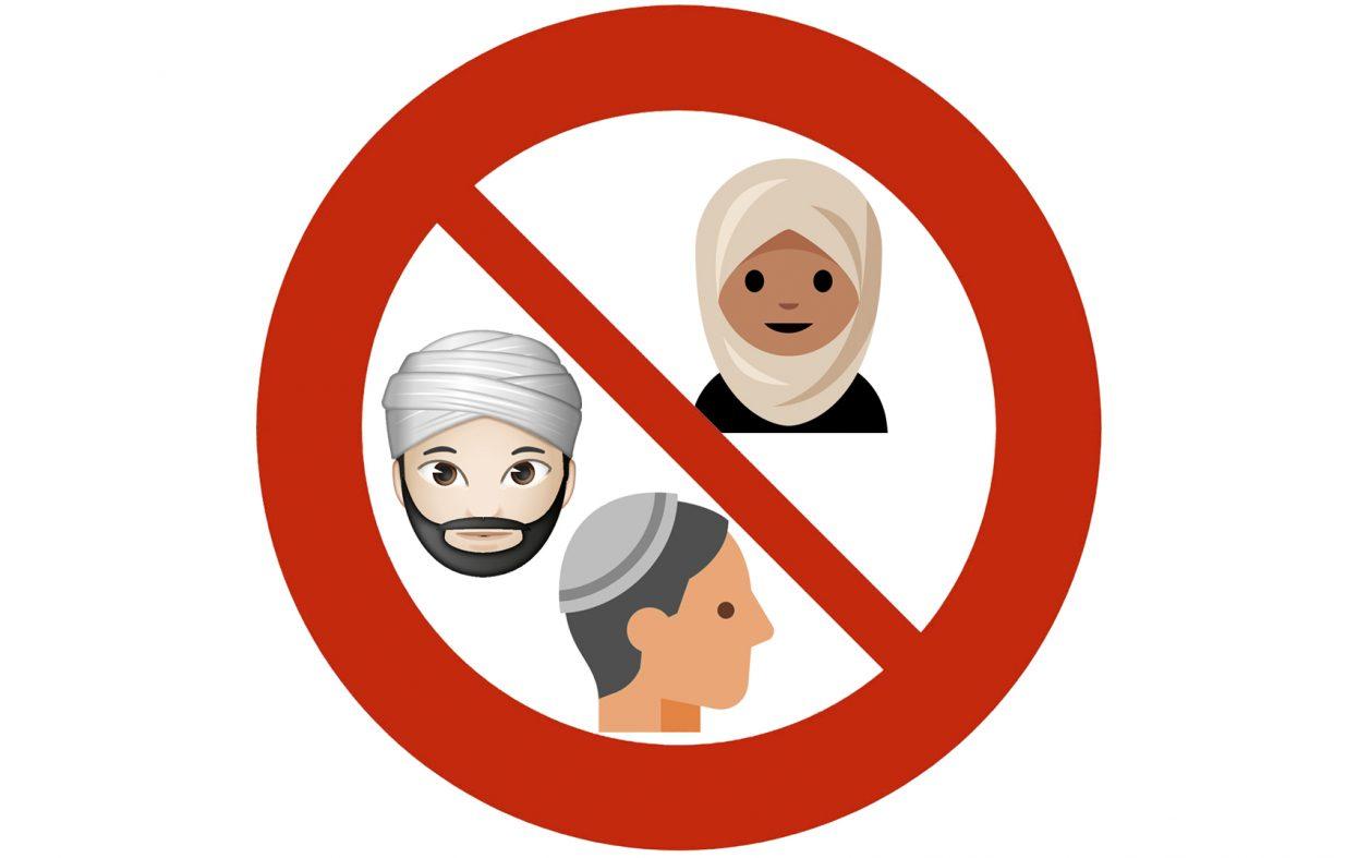 Muslimsk gruppe utfordrer lov om forbud mot religiøse symboler