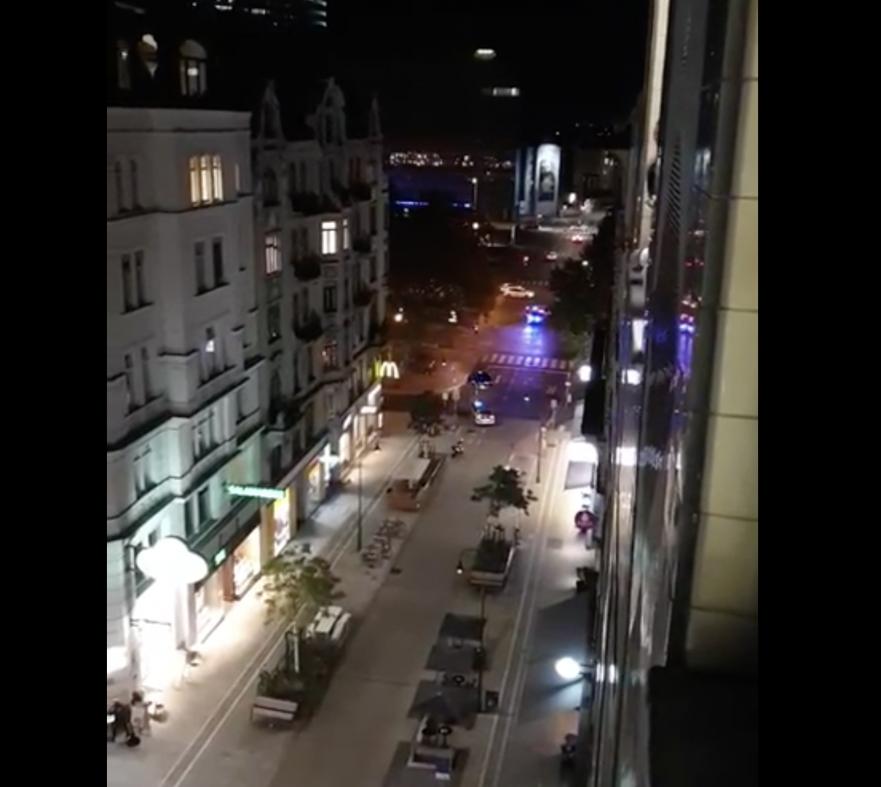 Synagoge angrepet i Wien