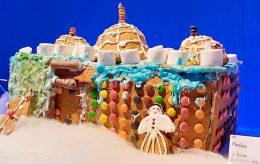 Pepperkake-moské i Stavanger skal gi julestemning