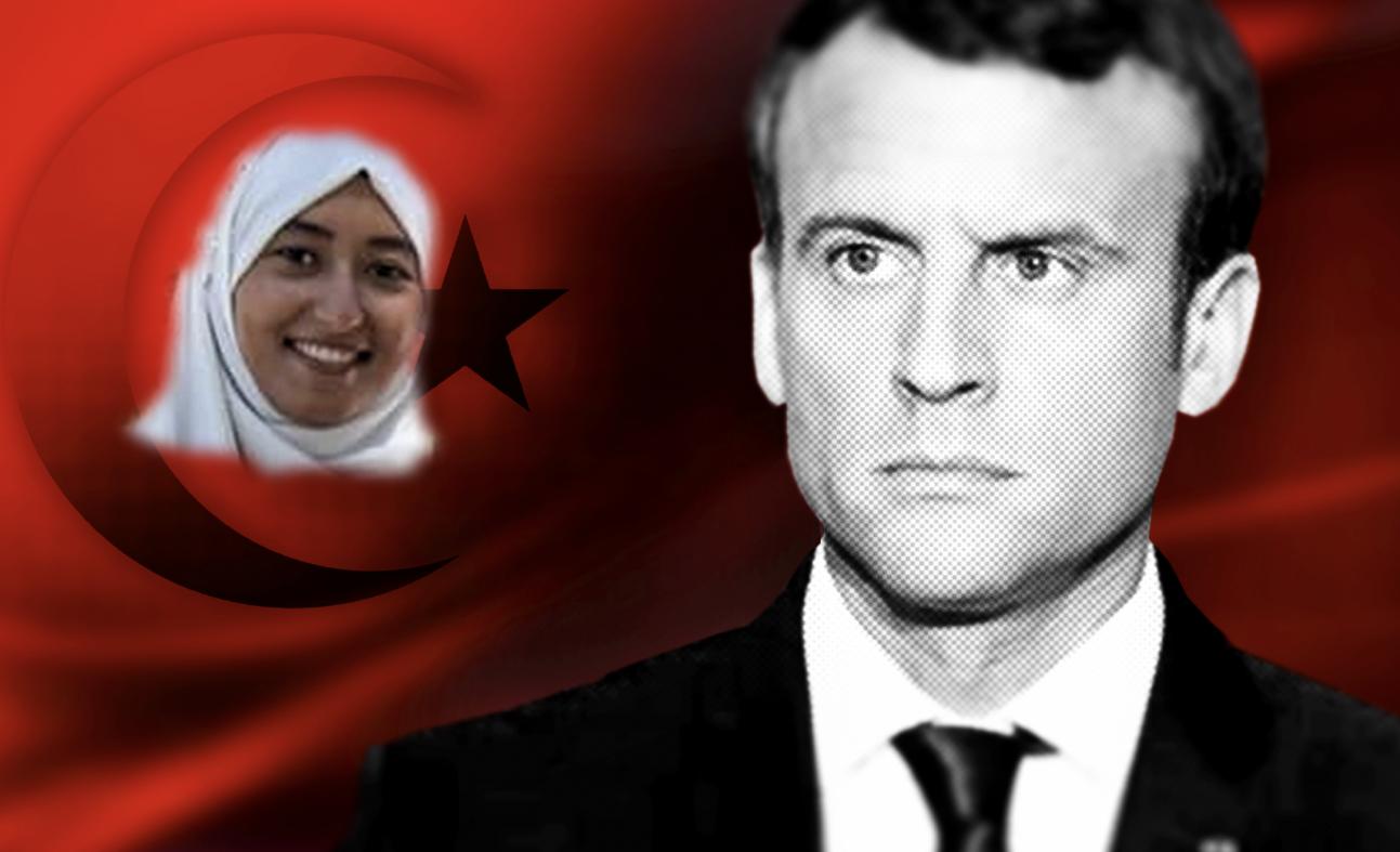 Ikledd hijab går hun til valg – for Macrons parti